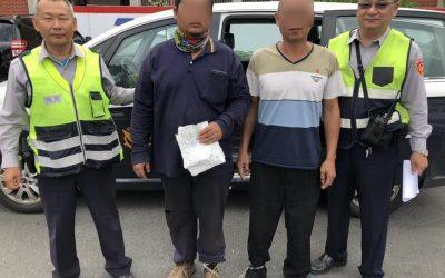 上周被抓今又酒駕 醉男毆警反被壓制送辦。(記者蘇杉郎翻攝)