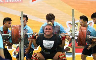 中市全民運總獎牌數保持全國第一 拔河 健力選手再添金牌。(記者劉秝娟翻攝)