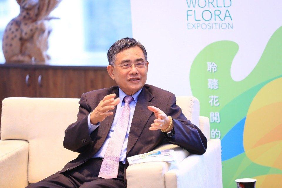 港務公司新任吳董事長拜會林市長 共推港市合作創造雙贏。(記者劉明福翻攝)