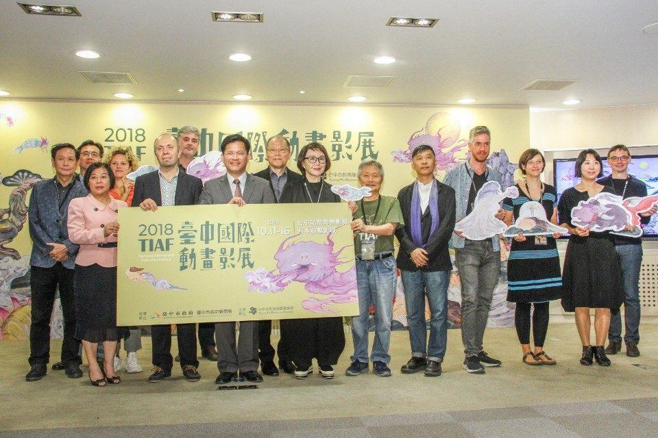 第四屆「台中國際動畫影展」熱鬧登場 徵選動畫藝術家赴法駐村創作。(記者何權璋翻攝)