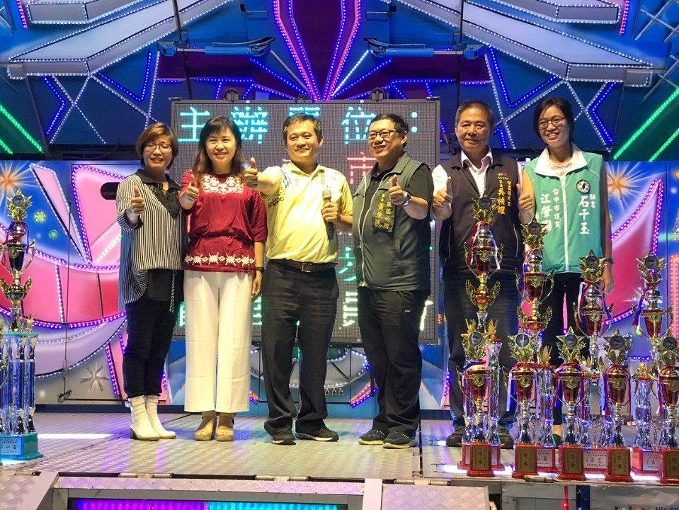 2018繼光盃全國歌唱大賽登場 鼓勵移工歡度活動。(記者陳信宏翻攝)