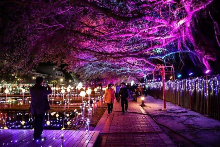 讓世界看見台灣!2020北港燈會獲國際展場設計金獎。(記者張達雄攝影)