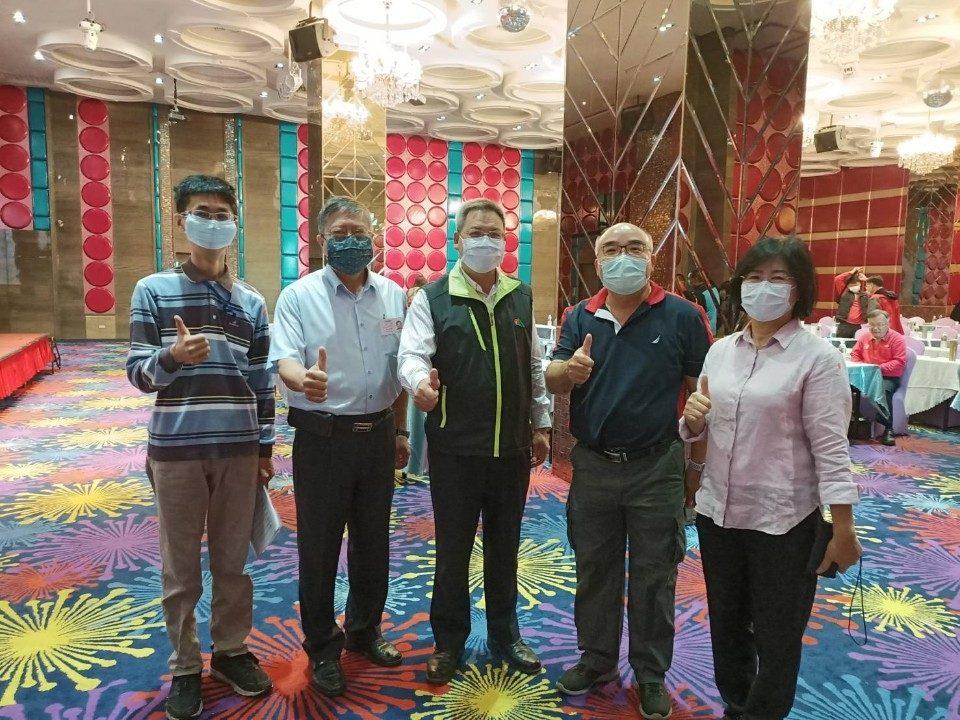 雲林縣遊覽車運輸業轉型培訓課程起跑,首日報到率達100%。(記者張達雄攝影)