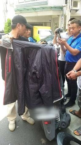 雲林警方強力打擊犯罪 4小時內擒獲機車匪 依法送辦。(記者張達雄攝影)