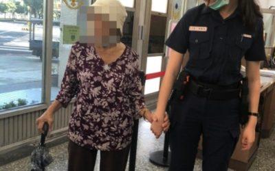 警方協助婦人照片。(特派員林惠貞翻攝)